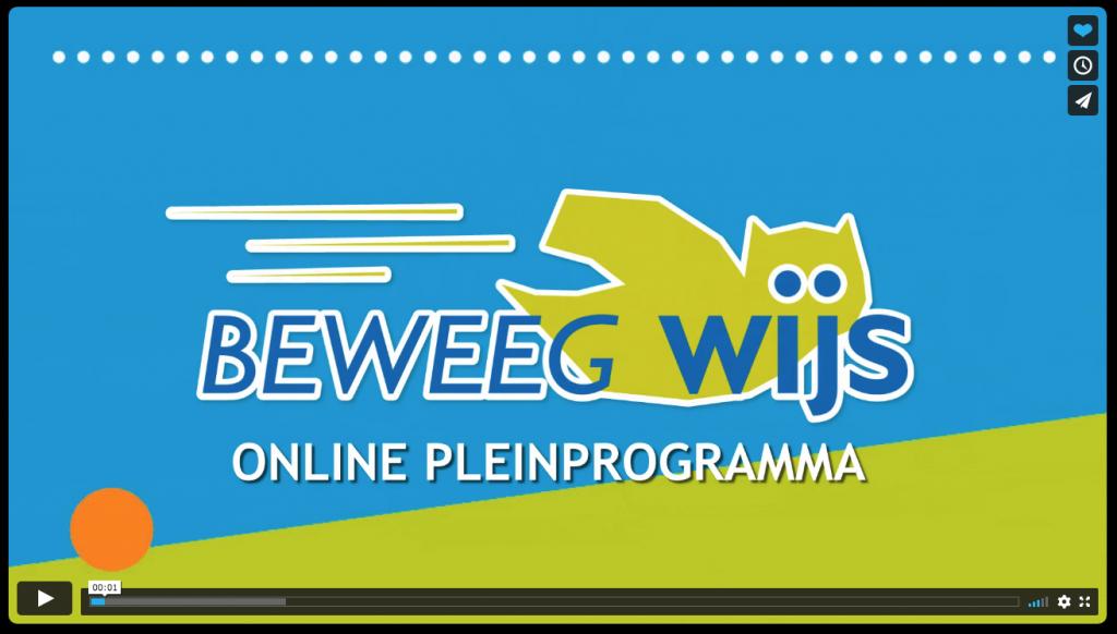 Introductie Online Pleinprogramma